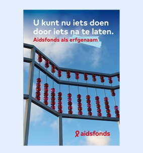 Folder Nalaten aan Aidsfonds